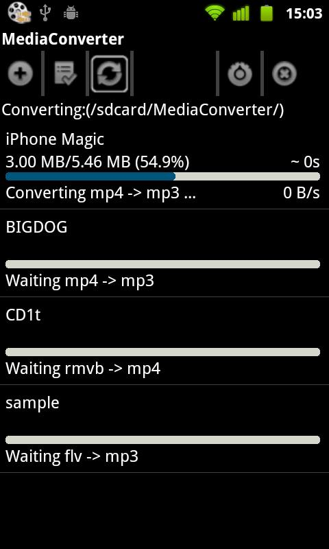 MP3 Media Converter Android
