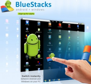 Blue Stacks Android no Windows