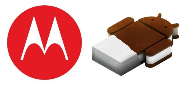 Motorola ice cream sandwich