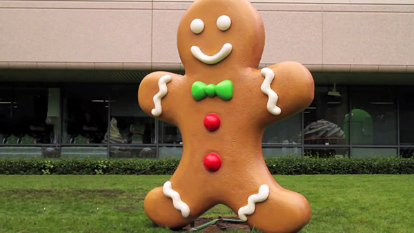 Android Gingerbread mascote