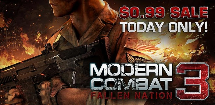 Modern Combat 3 Android