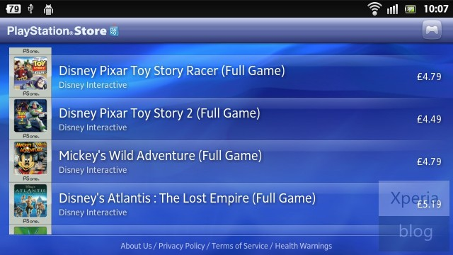 Playstation Store Android
