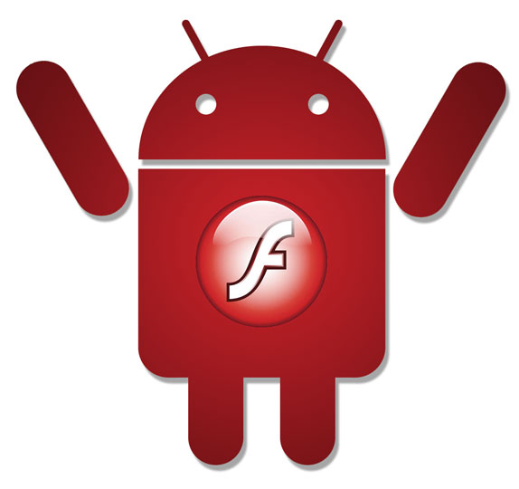 Flash Player Android logo