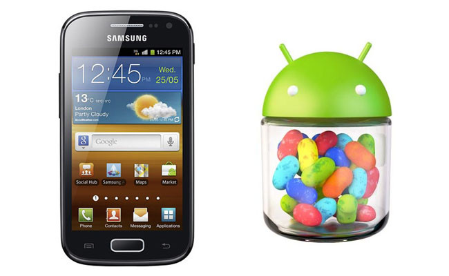 Galaxy Ace 2 Android Jelly Bean