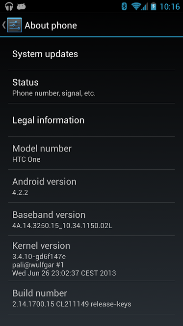 HTC One oficial com ROM Google Edition