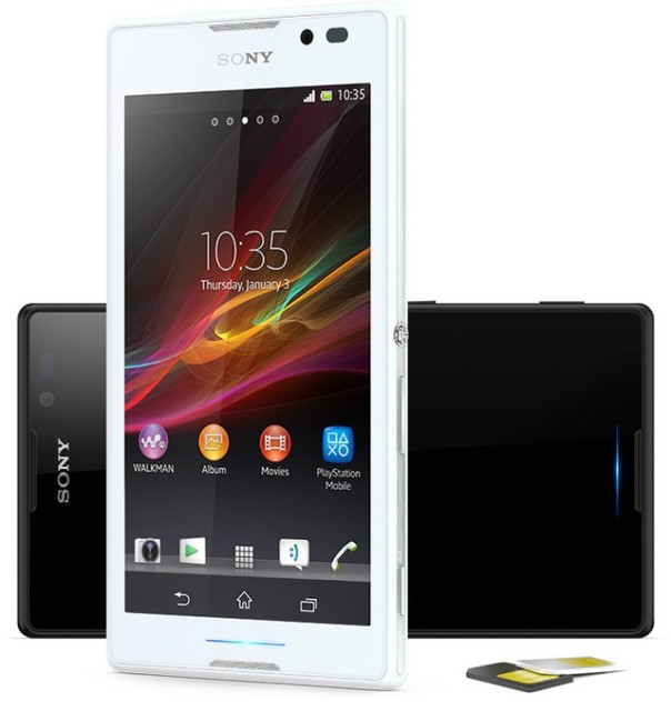 Sony Xperia C dual-chip