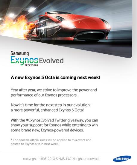 Samsung Evolved Exynos 5