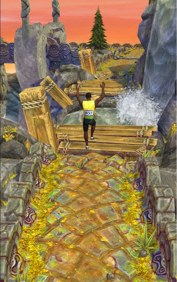 Temple Run 2 Usain Bolt