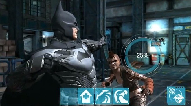 Batman Arkham Origins Android e iOS