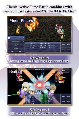 Final Fantasy 4: After Years fases da lua