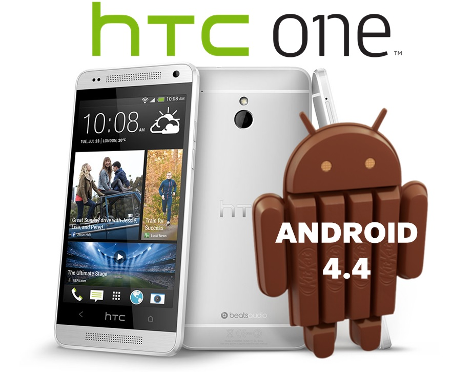HTC One Android 4.4