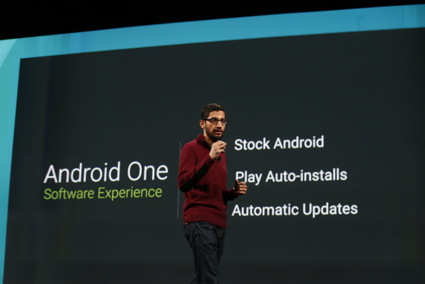Android One Experiência do Software