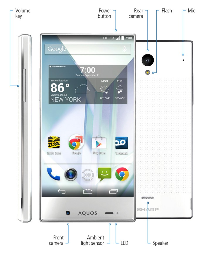 Sharp Aquos Crystal