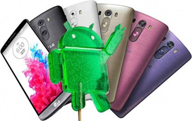 Android Lollipop 5.0 LG G3