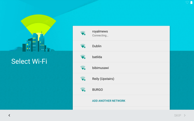 Android 5.0 Lollipop Wi-Fi