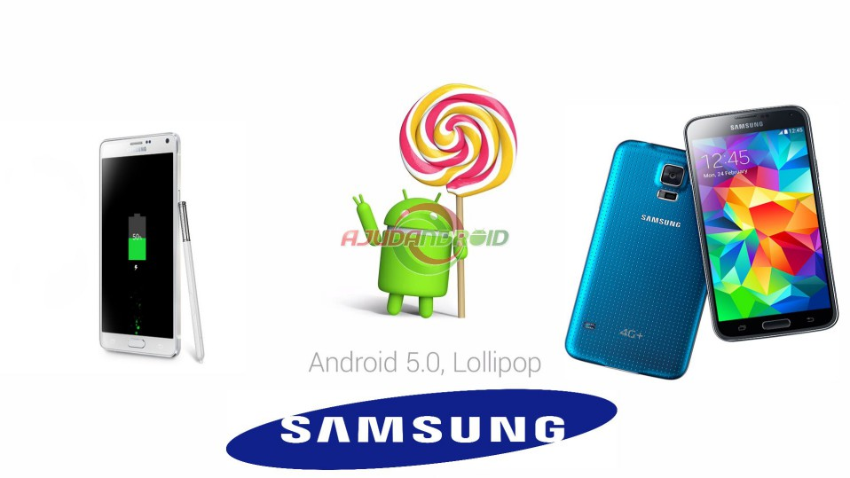 Android 5.0 Lollipop Samsung