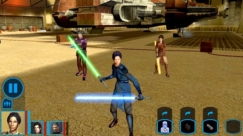 Star Wars Knights of the Old Republic chega ao Android