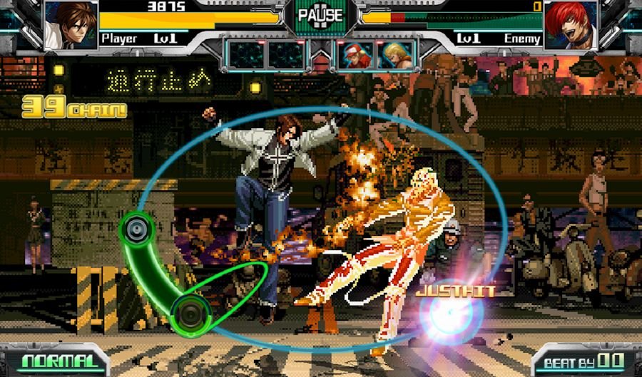 jogo The Rhythm of Fighters de Android