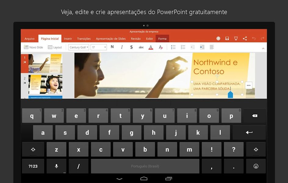 Microsoft Office tablets Android