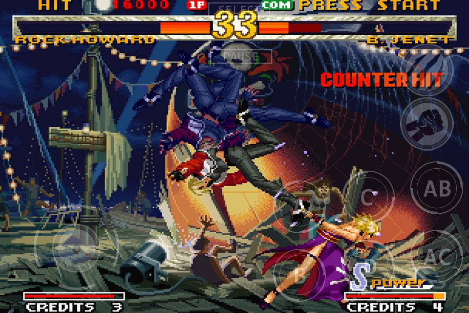 """Garou: Mark Of The Wolves """"Fatal Fury: Mark of the Wolves"""" Android e iOS"""