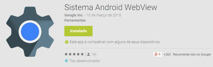 Sistema Android WebView