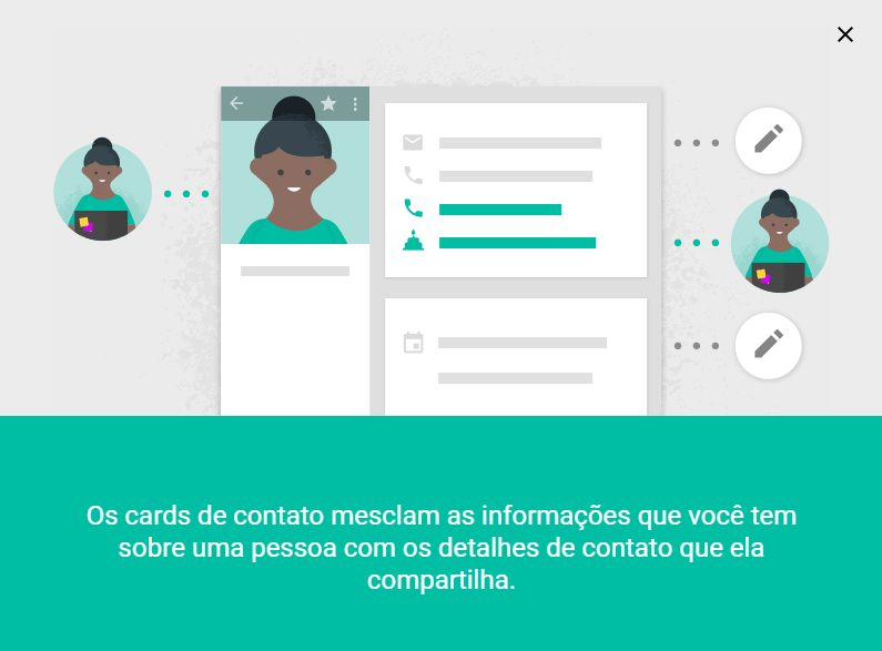 Contatos telefonicos do Android na Web
