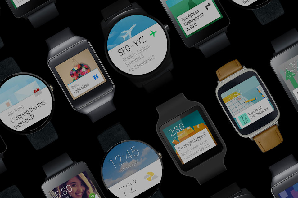 Relógios Android Wear