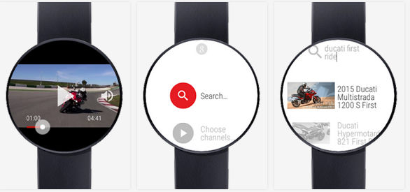 Android Wear & Video Youtube