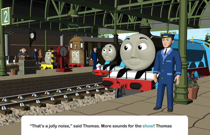 Thomas's Musical Day for Percy Android