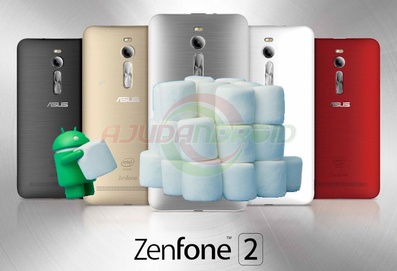 Asus Zenfone 2 Android 6.0 Marshmallow