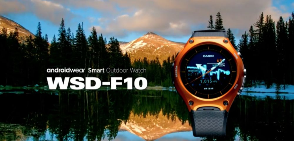 Android Wear Casio WSD-F10