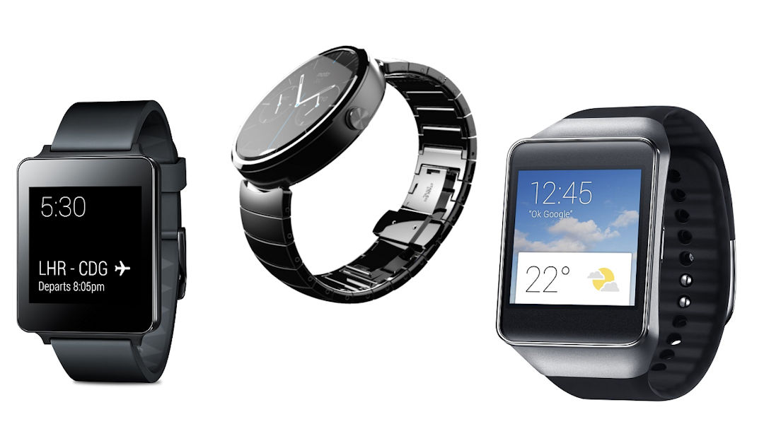 Relógios inteligentes Android Wear
