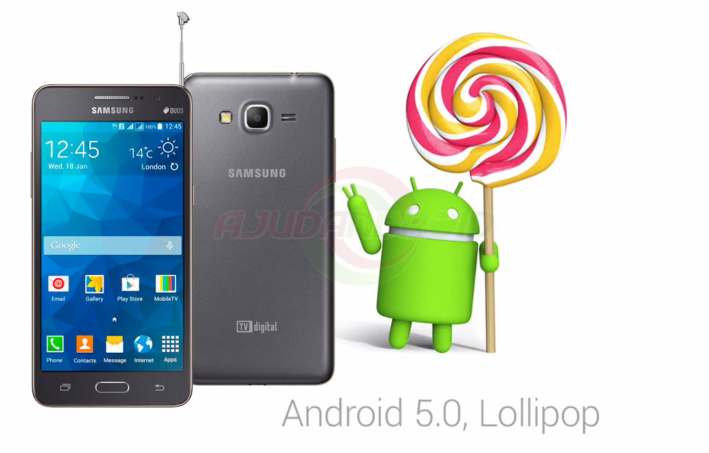 Galaxy Gran Prime Duos TV Android 5.0.2 Lollipop