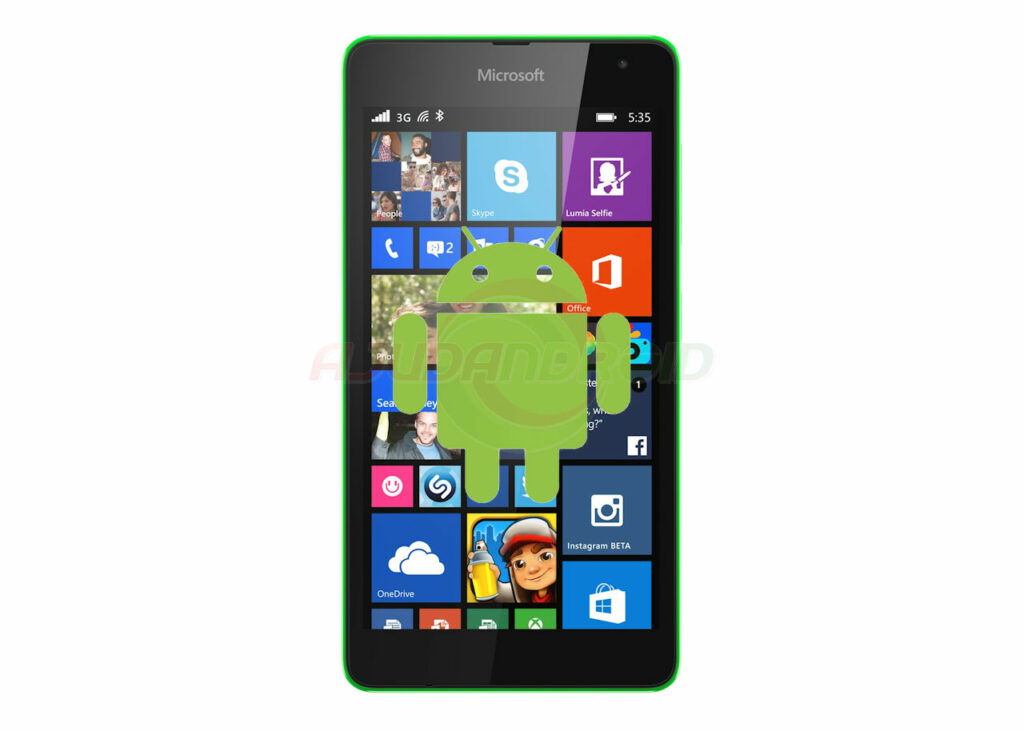 Lumia 525 Android