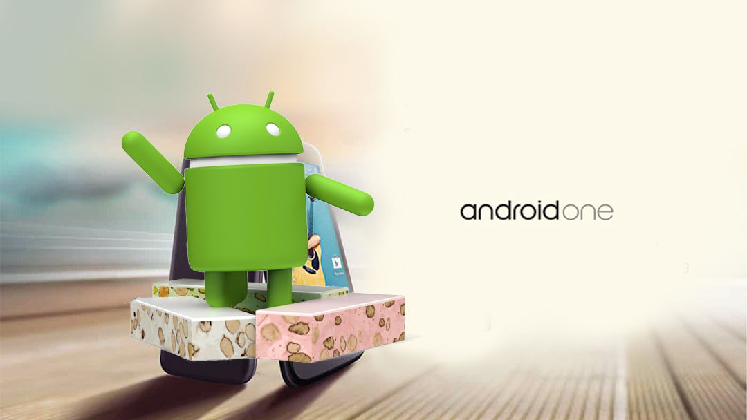 Android One com Android 7.0 Nougat