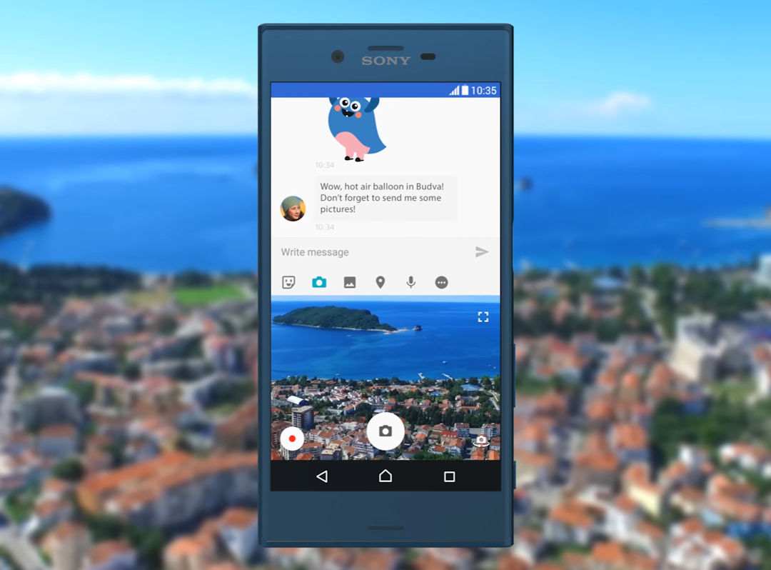 Xperia X Performance Android Nougat