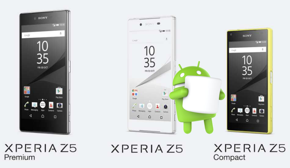 Xperia Z5 Android 7.0 Nougat