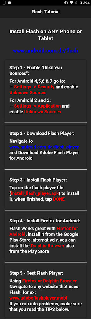 F11 Flash Player