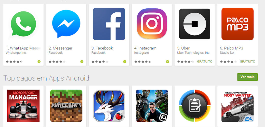 Apps Android Google Play