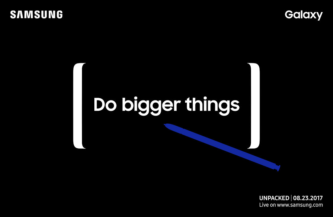 Samsung Evento Galaxy Note 8