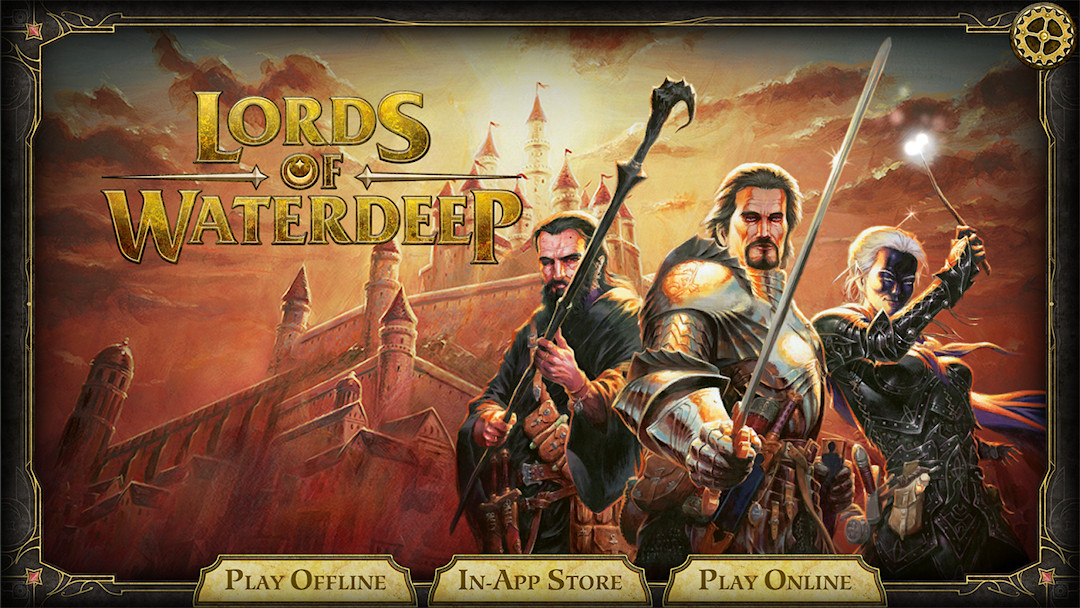D & D: Lords of Waterdeep