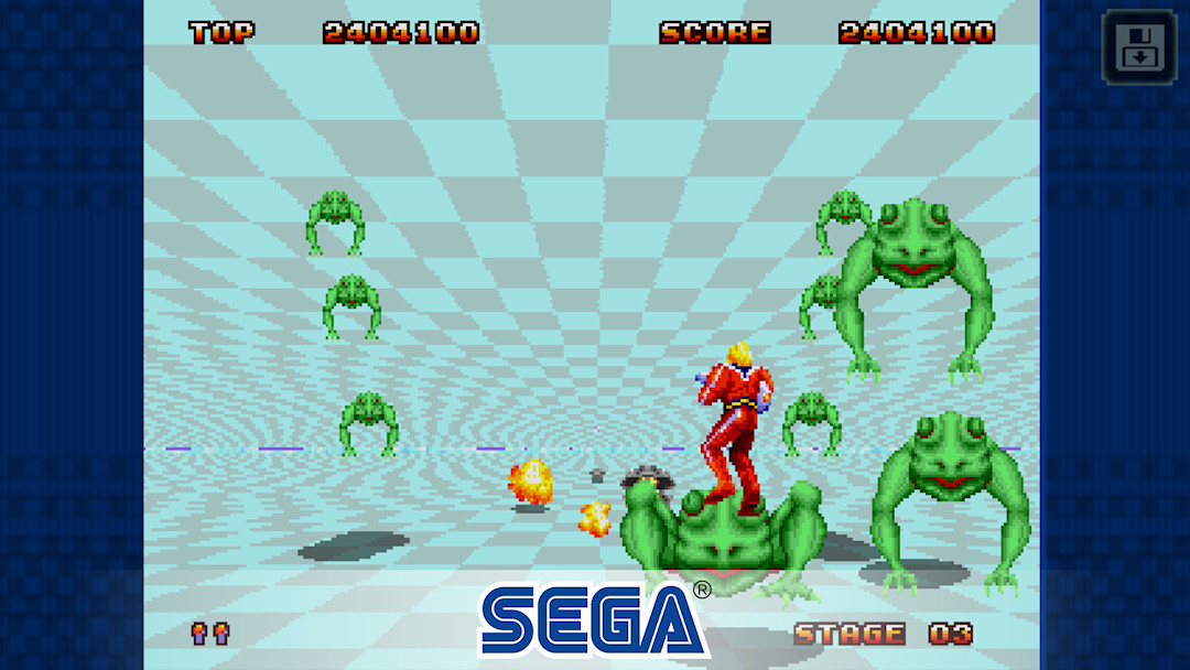 Space Harrier 2 Classic