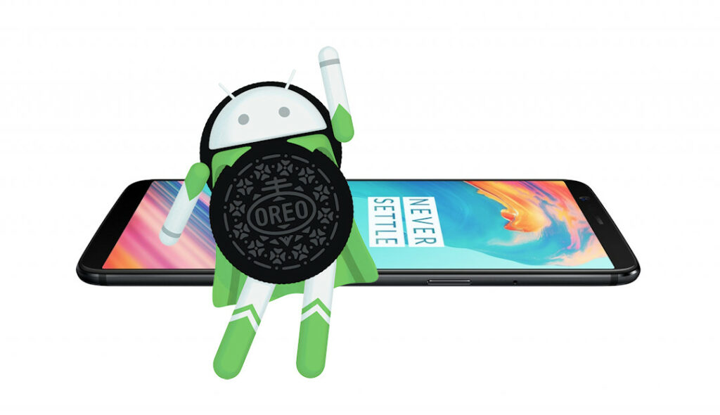 OnePlus 5T Android 8.0 Oreo