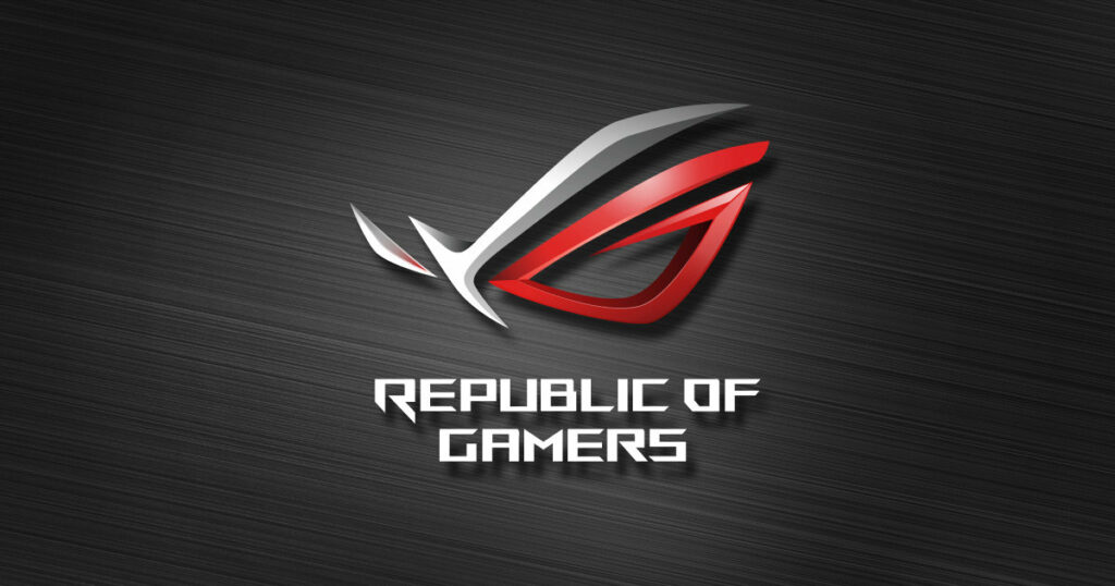Asus Republic Of Gamers (ROG) logo