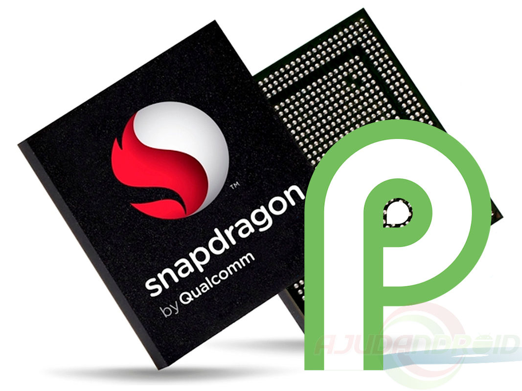 Snapdragon Android P Logo