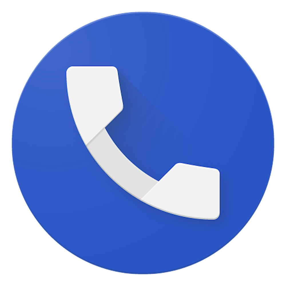 Aplicativo Telefone do Google Logo