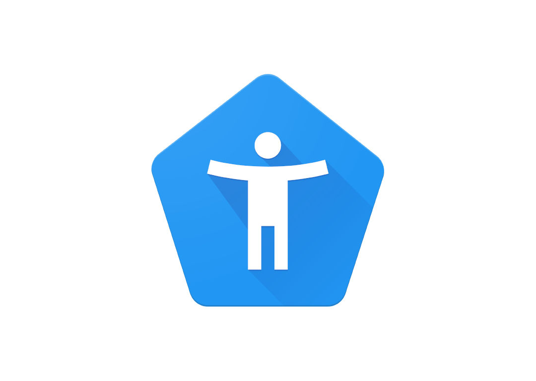 Android Accessibility Suite Logo (logo de acessibilidade do Android)