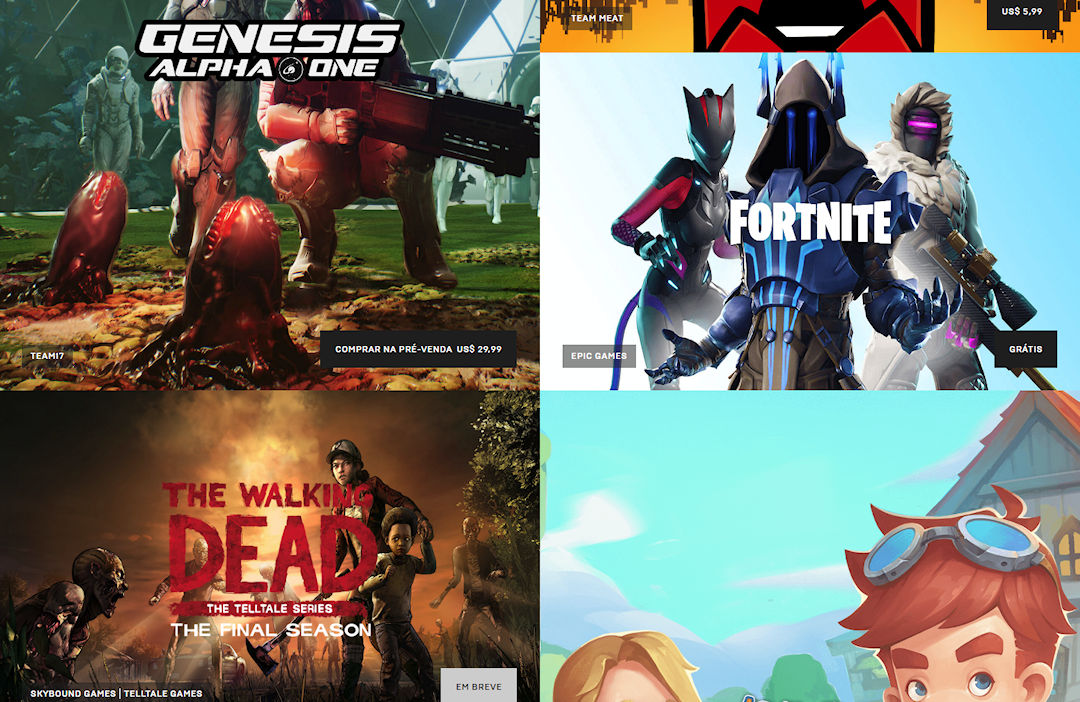 Epic Games Store: loja pode chegar ao Android nesse ano