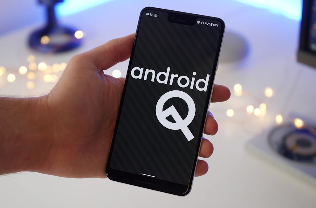 Android 10 logo Android Q