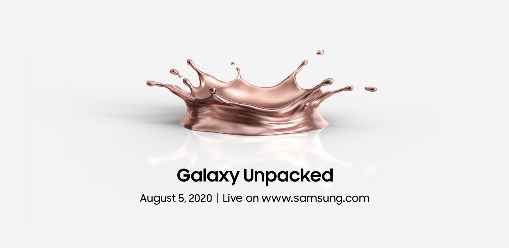 Galaxy Unpacked agosto 2020